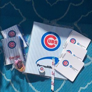 Cubs school supplies fun pack new